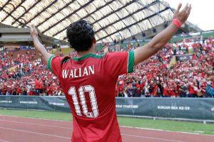 Sukacita Ezra Walian menjadi punggawa Timnas Indonesia